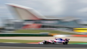 Stroll 18e aux qualifications en Grande-Bretagne