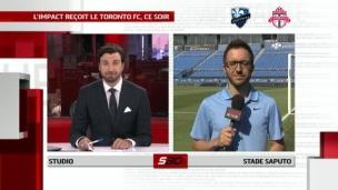 L'Impact reçoit le Toronto FC