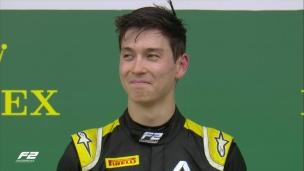Aitken vainqueur en Formule 2