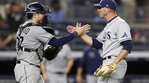 Rays 5 - Yankees 4
