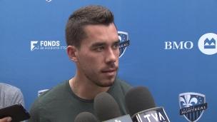 « Les joueurs sont frustrés de leur performance de samedi et j'aime ça »