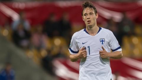 Lappalainen avec la Finlande pour l'Euro