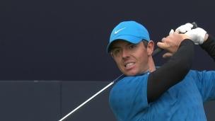 Rory McIlroy dans le trouble au départ