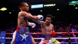 Keith Thurman et Manny Pacquiao