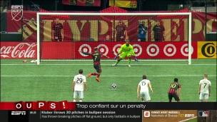 Oups! Trop confiant sur penalty