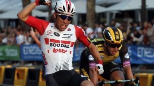 Sprint spectaculaire pour conclure le Tour de France
