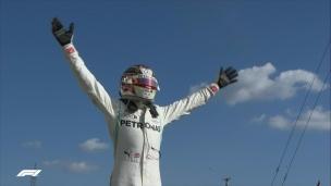 Hamilton a le dessus sur Verstappen en fin de course