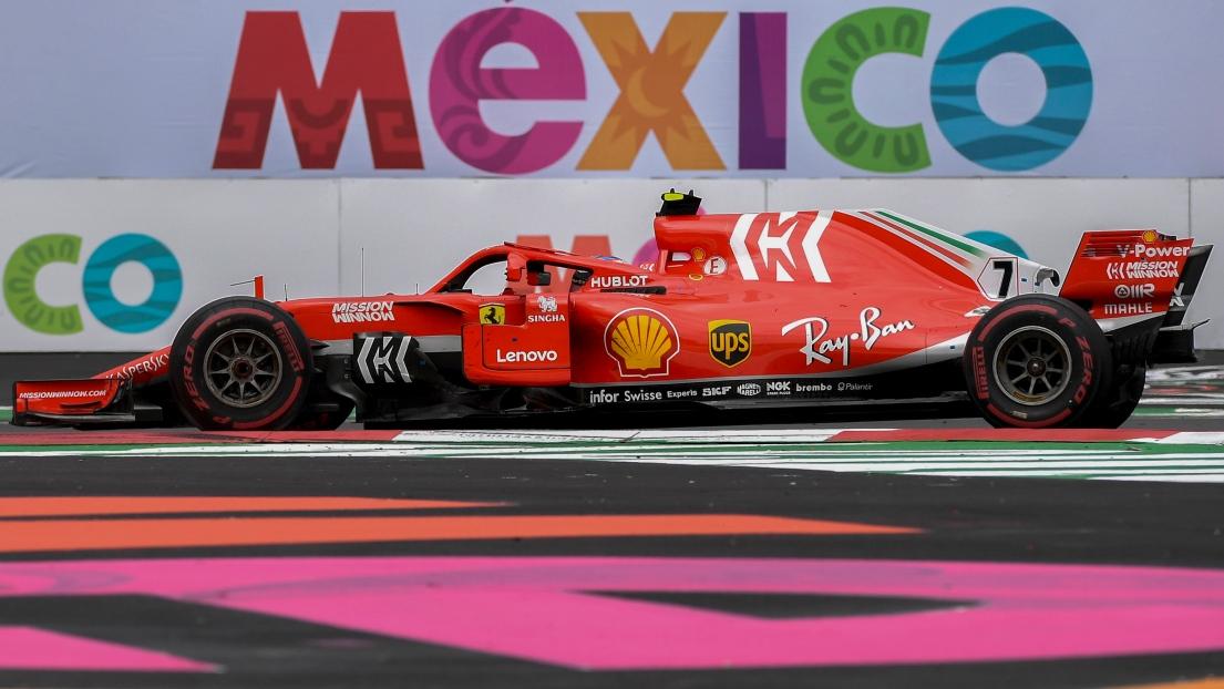 F1 : un grand prix à Mexico jusqu'en 2022
