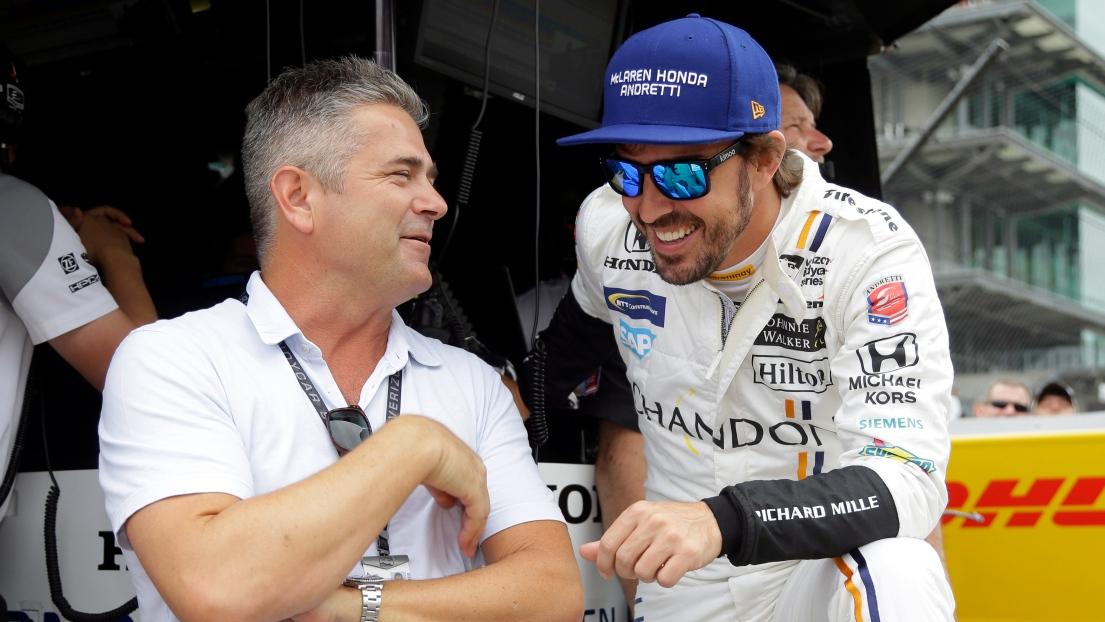 Non, Brown n'a pas oublié Alonso — McLaren en IndyCar