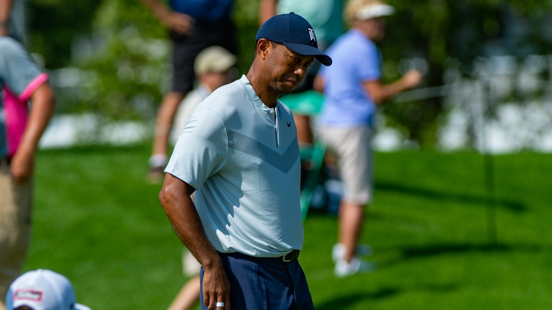 Tiger Woods en difficulté après le 1er tour — Northern Trust