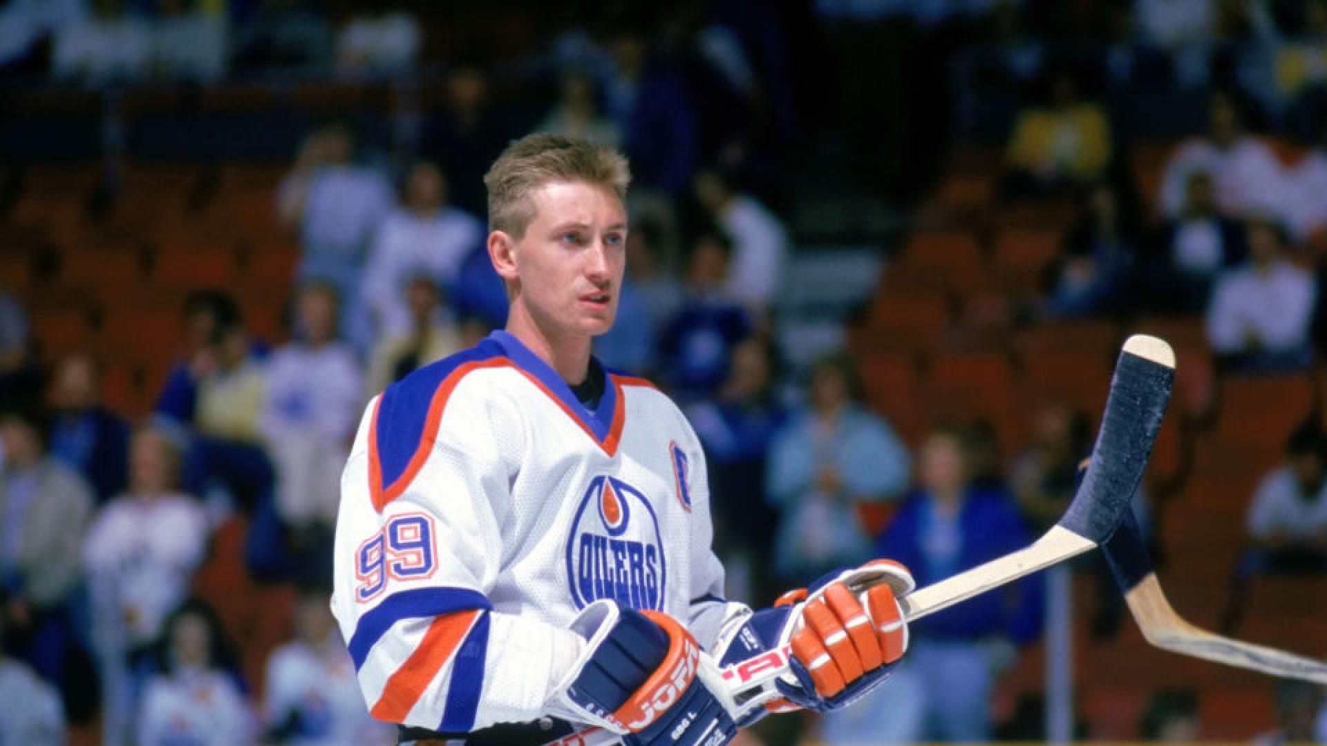 Wayne Gretzky avec les Oilers