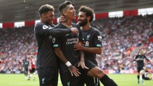 Southampton 1 - Liverpool 2