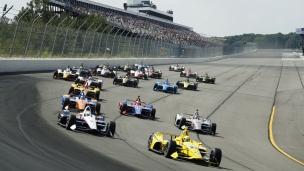 Accident inquiétant en Indycar