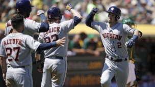 Astros 4 - Athletics 1