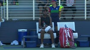 Abanda éliminée en qualifs du US Open
