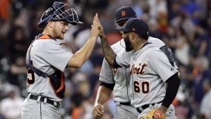 Tigers 2 - Astros 1