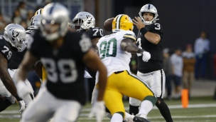 Packers 21 - Raiders 22