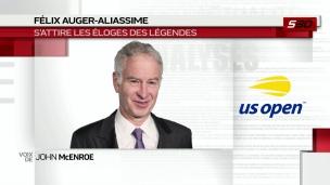 McEnroe louange Auger-Aliassime et Andreescu