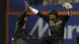 Braves 2 - Mets 1 (14 manches)