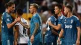 Adrien Rabiot, Federico Bernardeschi, Cristiano Ronaldo et Miralem Pjanic