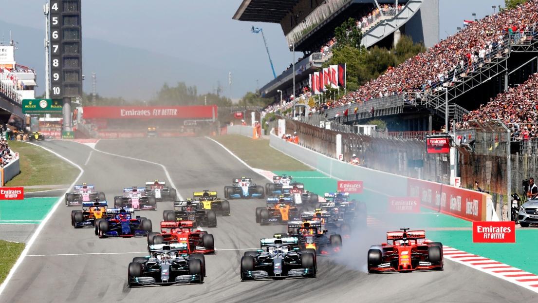 F1 Le Grand Prix D Espagne Est Inscrit Au Calendrier De La