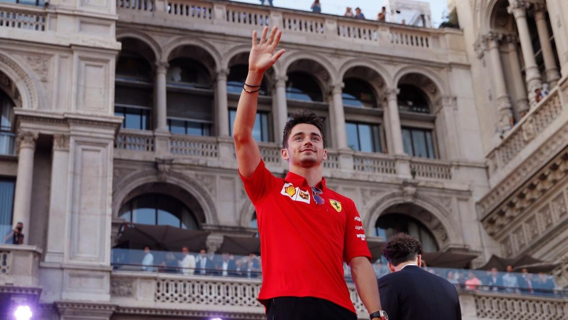 Leclerc prend la pole devant les Mercedes — Grand Prix d'Italie