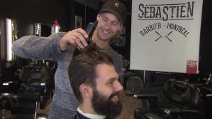 Parrot champion à temps plein, barbier à temps partiel