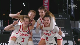 Basketball 3 c. 3 : le titre au Canadiennes