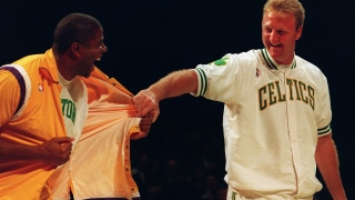 Magic Johnson et Larry Bird