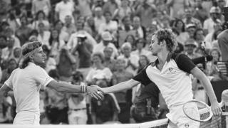Bjorn Borg et John McEnroe