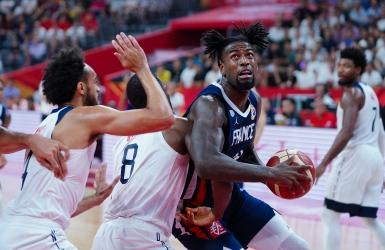 Basket : les États-Unis surpris par la France