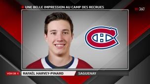 Rafaël Harvey-Pinard a laissé une bonne impression!