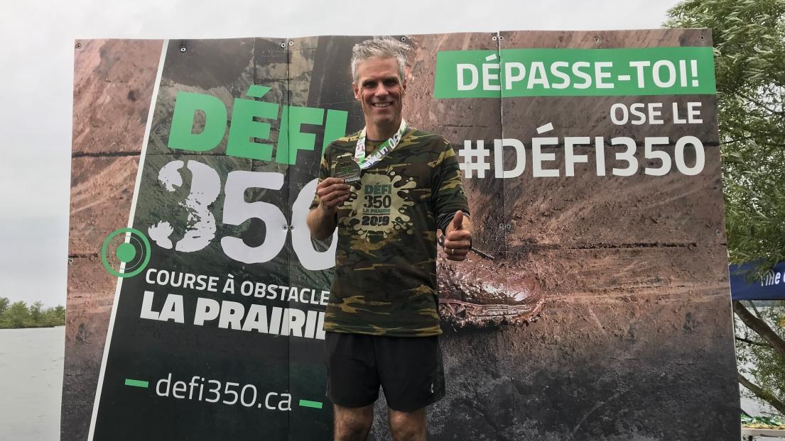 Frédéric Plante au Défi 350