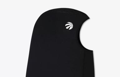 Un hijab qui affiche le logo des Raptors