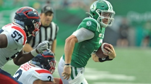 Alouettes 25 - Roughriders 27