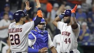 Astros 6 - Royals 1