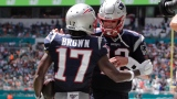 Antonio Brown et Tom Brady