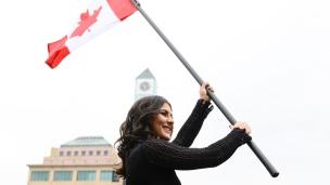 Bianca Andreescu honorée à Mississauga