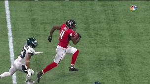 Boom! Julio Jones se téléporte 54 verges plus loin!