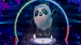 La mascotte des Jeux olympiques de 2022 à Pékin