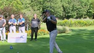 Le challenge de golf de l'AC : les coups de départ