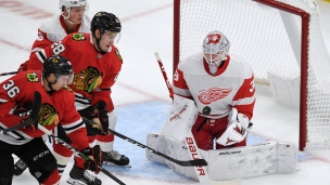 Red Wings 1 - Blackhawks 2