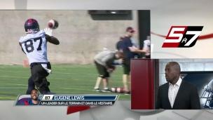 Eugene Lewis prend une place de leader