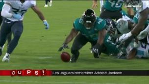 Oups! Adoree Jackson ouvre la porte aux Jaguars