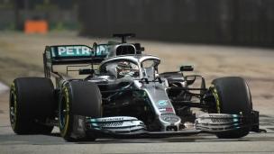 Hamilton le plus rapide à Singapour