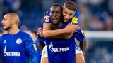 Les joueurs de Schalke célèbrent