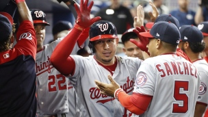 Nationals 6 - Marlins 4