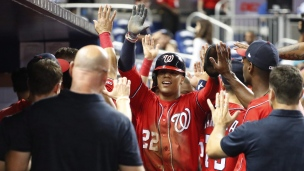 Nationals 10 - Marlins 4