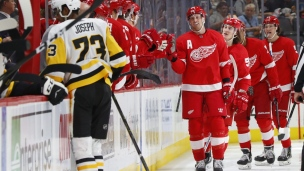 Penguins 2 - Red Wings 3 (Prolongation)