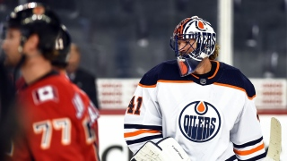 Mike Smith avec les Oilers